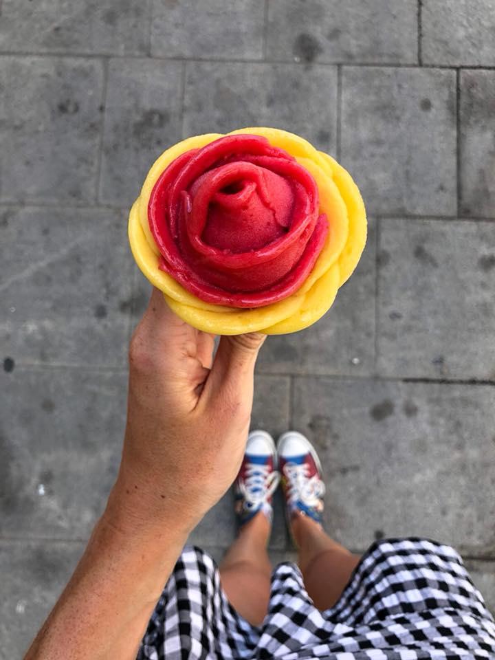 Amorino ice cream Barcelona