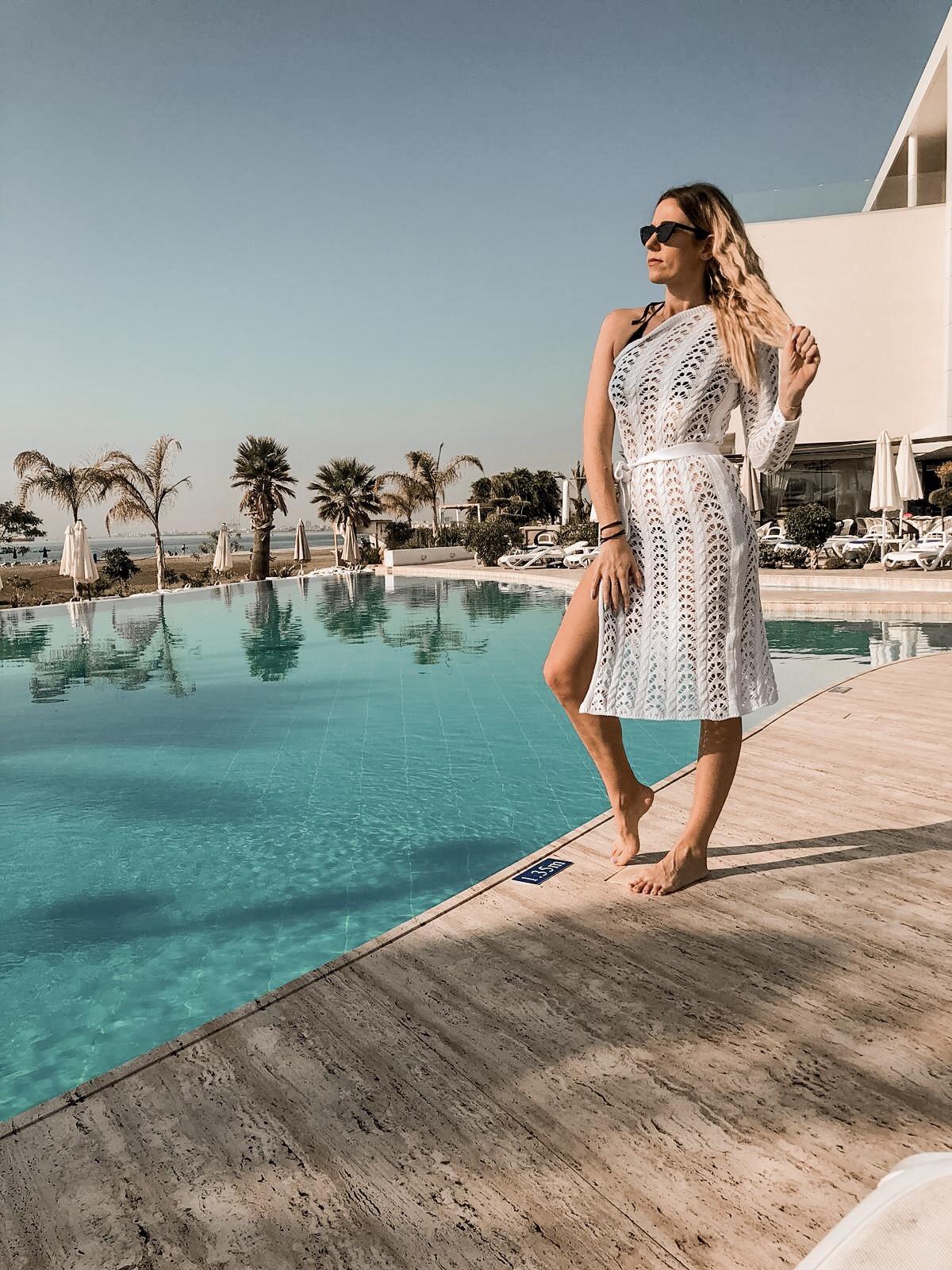 Lebay Beach Hotel pool Cyprus