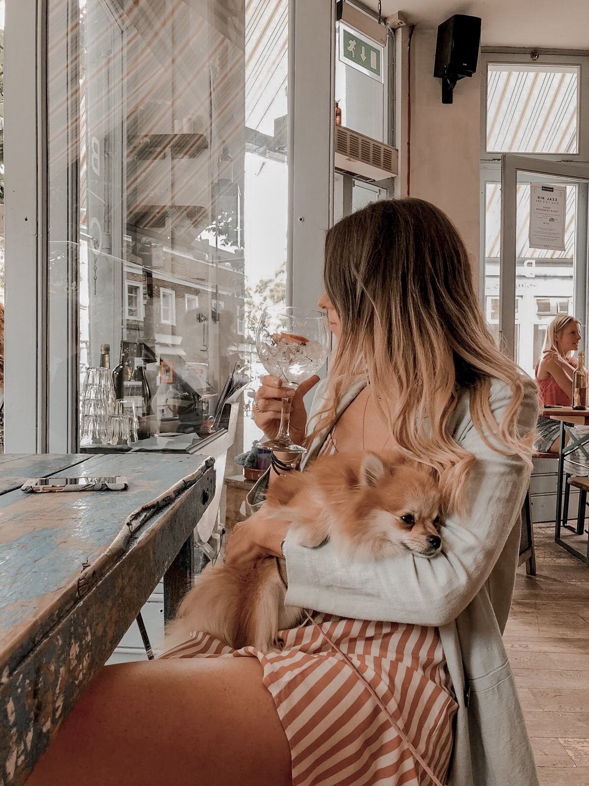 Dog friendly restaurant London