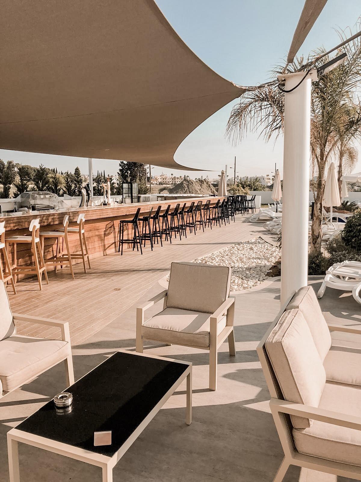 Lebay Beach hotel Cyprus bar