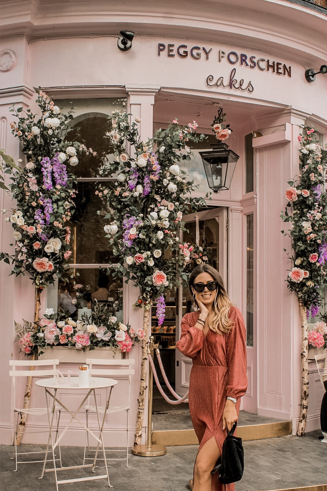 Peggy Porschen shoot day in London