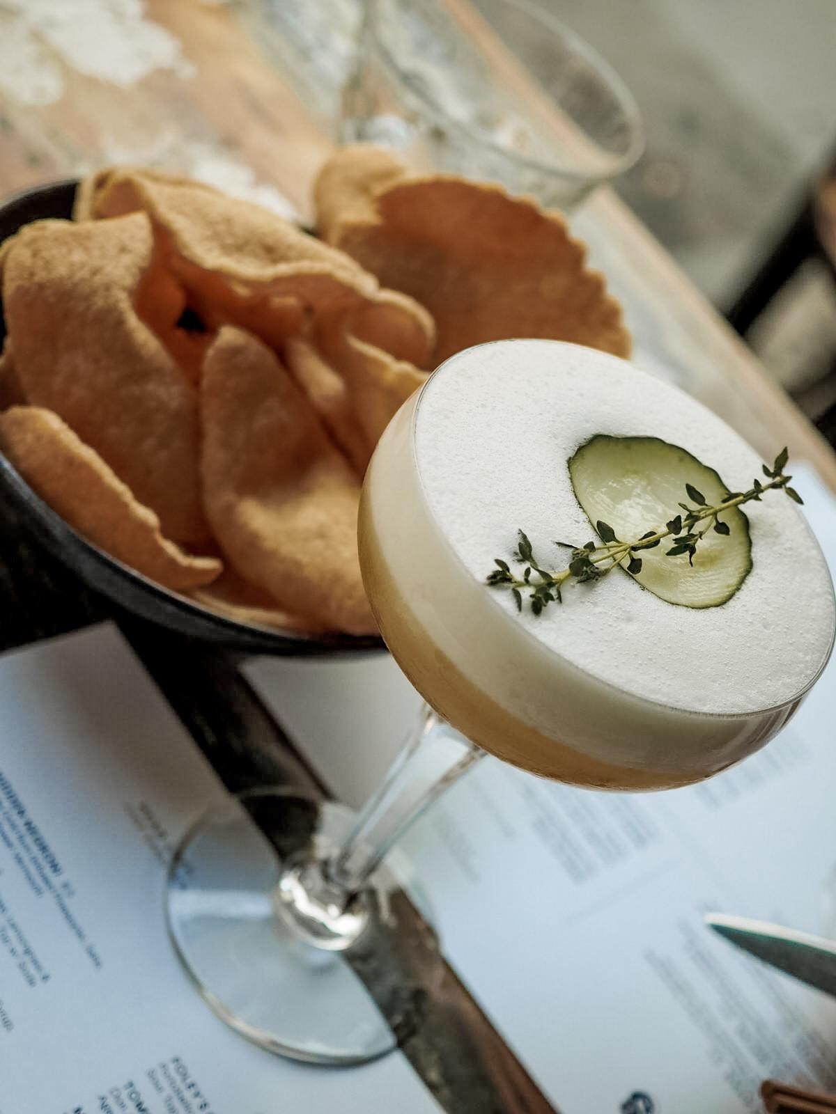 Cocktails asian fusion Fitzrovia