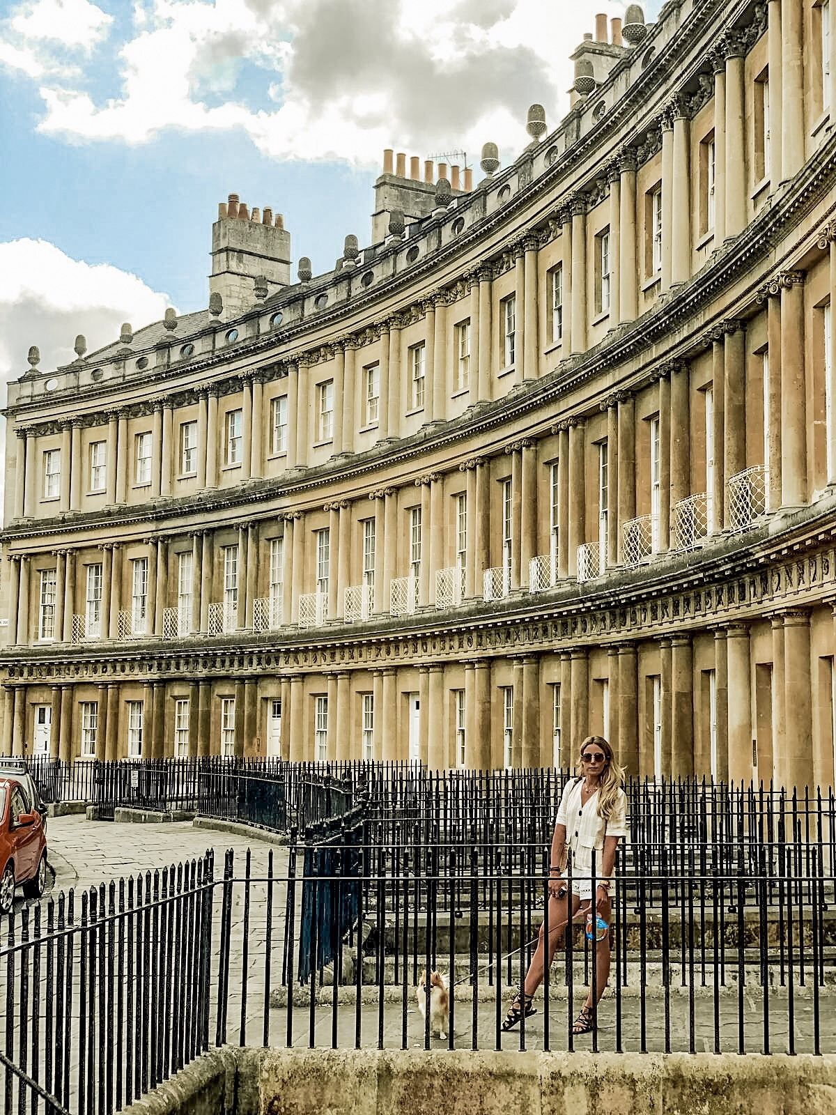 Royal Crescent Bath city guide