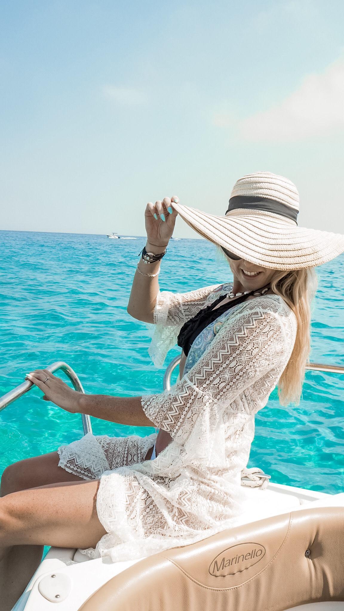 Boat trip Cyprus