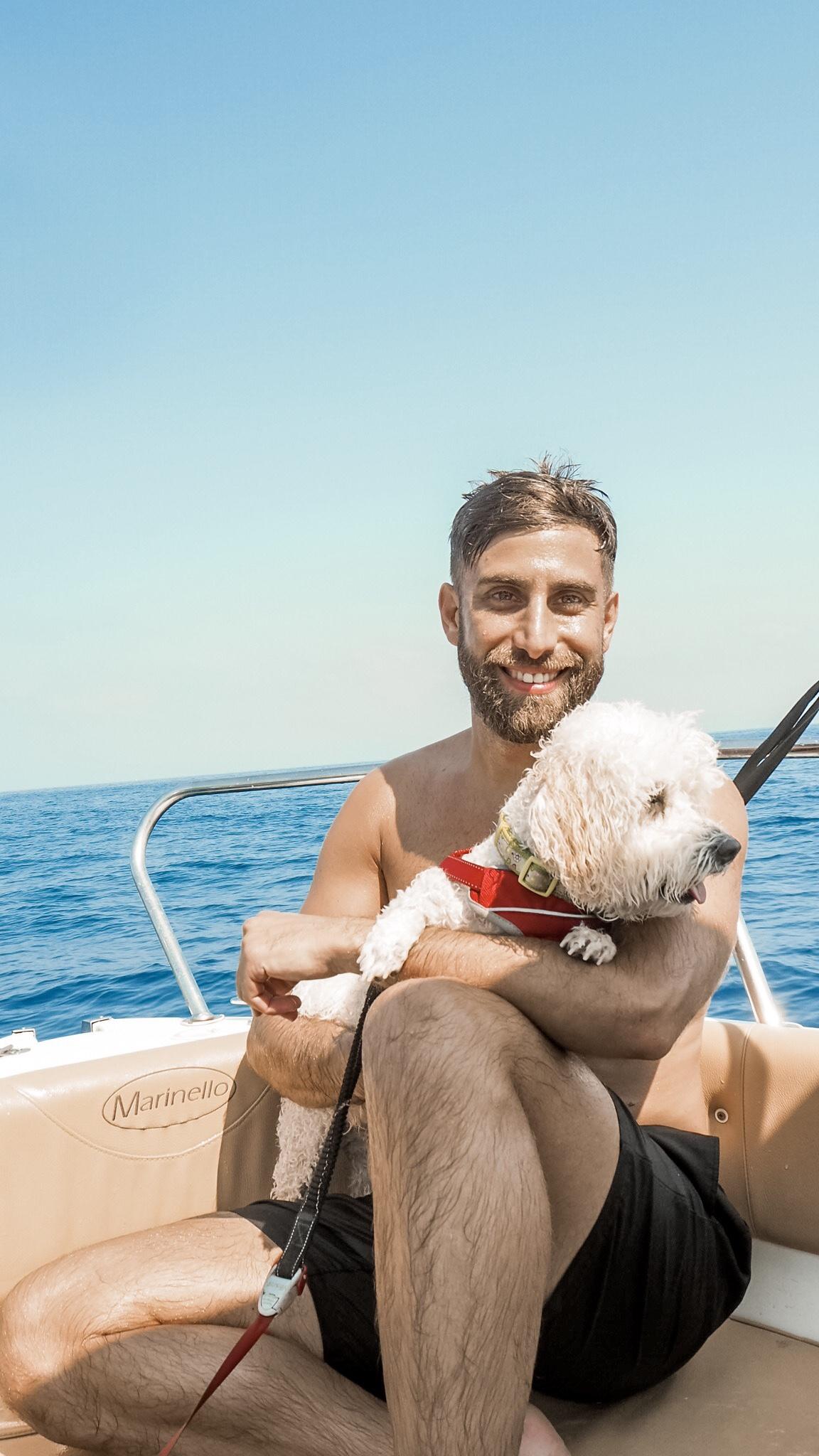 Latchi dog friendly watersports