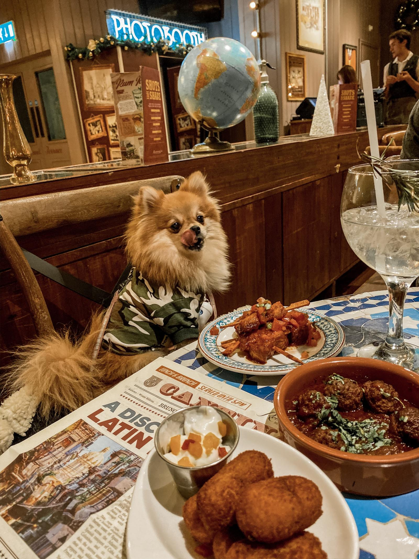 Revolucion de Cuba - dog friendly Newcastle