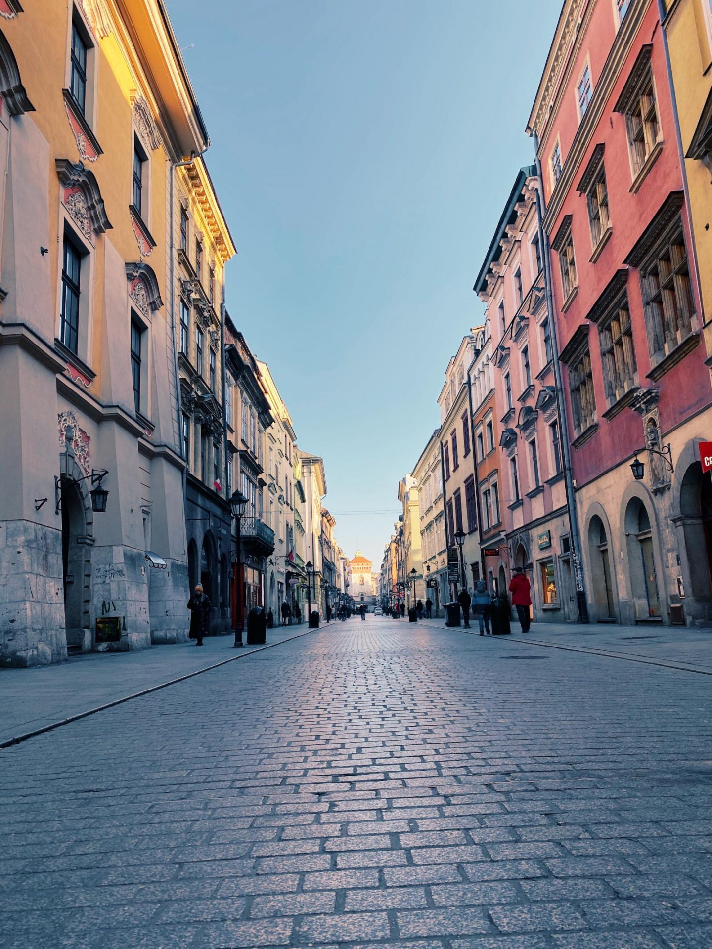 2 nights in Krakow - florianska street