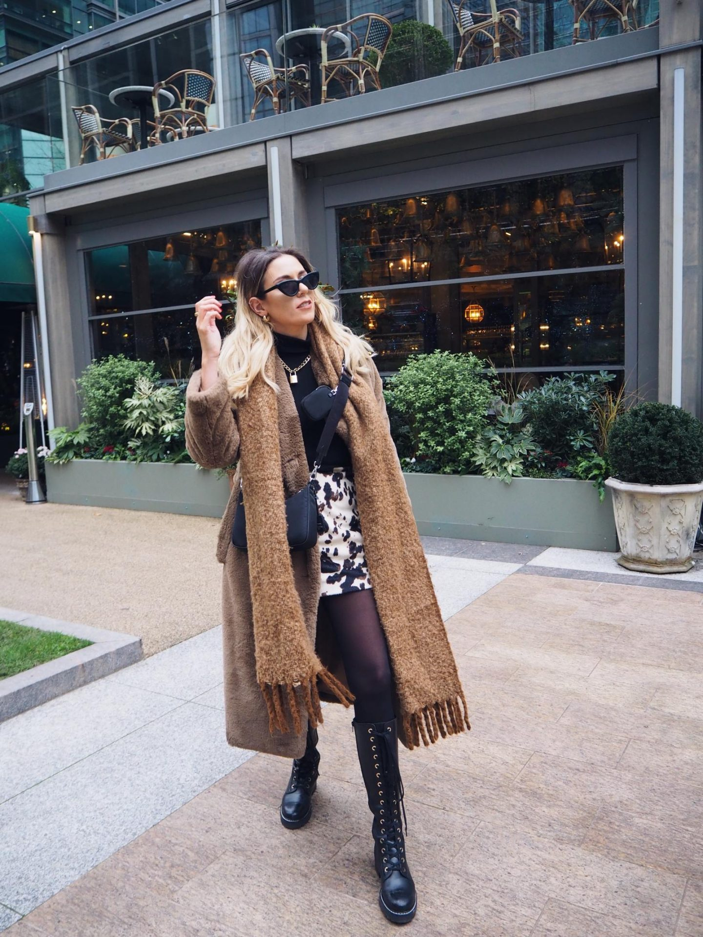therapy fur coat blogger